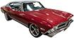 1964-88 Chevy Chevelle, El Camino, Buick Skylark, Oldsmobile Cutlass
