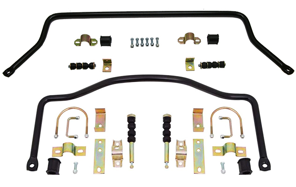 1973-87 Chevy, GMC C10 Truck Sway Bar Kit, High Performance, Front