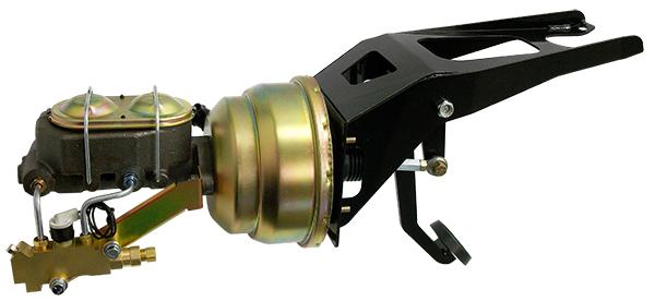 "1955-59 Chev GMC pickup 7/"" dual diaphragm power brake booster master cylinder"