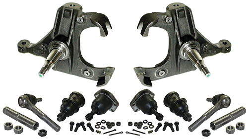1963-72 Chevy, GMC C10 Truck Drop Spindle Kit, 2 5