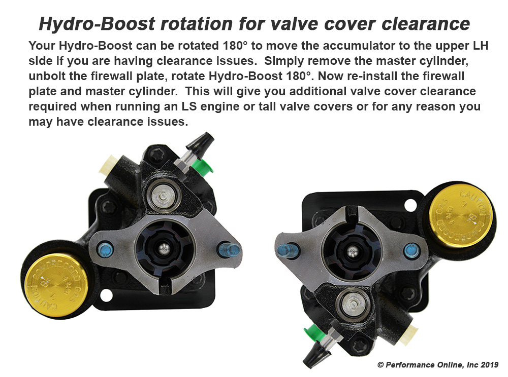 Hydro-Boost Power Brake Booster