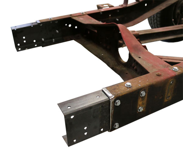 1963-72 Chevy, GMC C10 Truck Long to Short Bed Frame Conversion