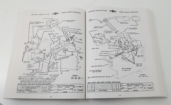 1967 chevy nova, chevy ii factory assembly manual  view detailed images (2)