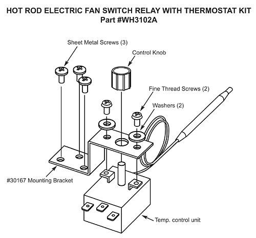 Adjustable Electric Fan Wiring Diagram | Wiring Diagram on