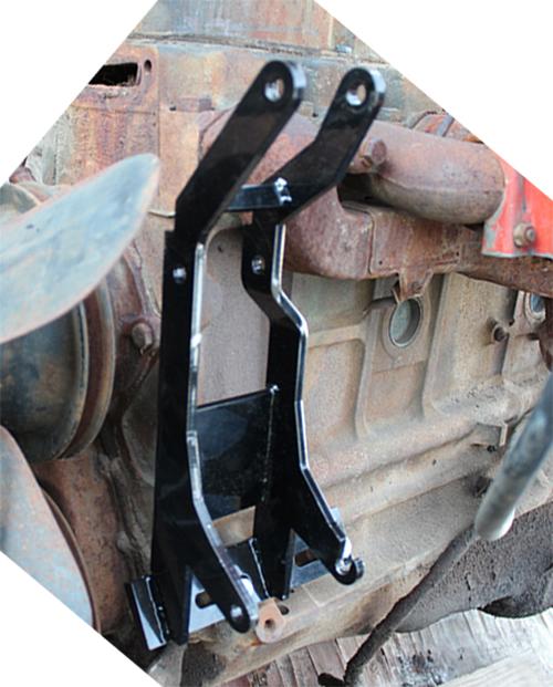 Power Steering Pump and Alternator Bracket Kit, 235 6 Cylinder