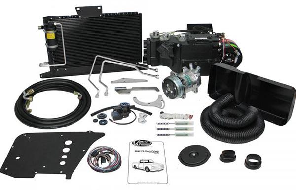 1967-72 Chevy & GMC  Truck SureFit Complete AC & Heat Kit for Non AC Trucks