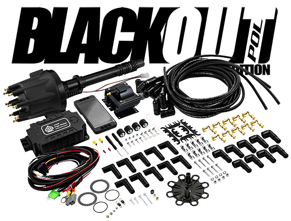 Aces BlackOut Complete Ignition Package, SBC / BBC Chevy