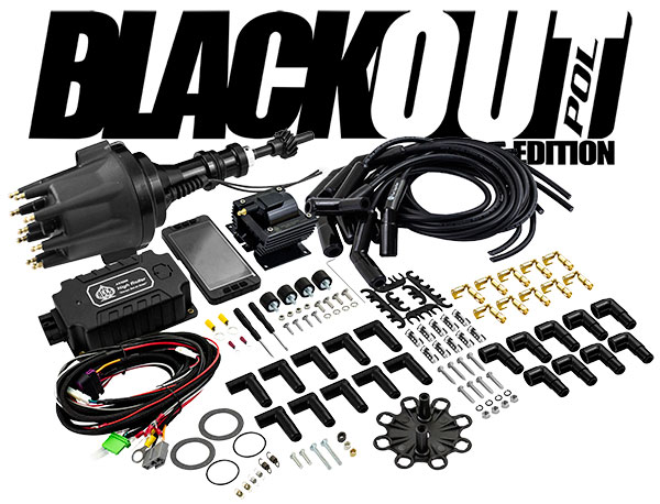 Aces BlackOut Complete Ignition Package, SBF Ford 289 / 302