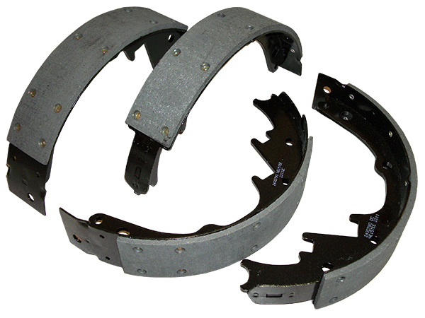 Brake Shoes, Rear, 1953-62 Chevy Corvette, 51-58 Chevy Belair and Truck and 48-66 Ford F-100