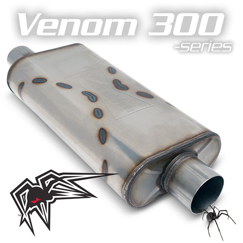 Black Widow Venom 300 Exhaust Muffler