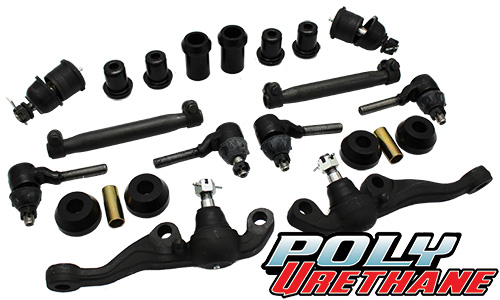 1970-72 Mopar A-Body Front Suspension Rebuild Kit, Poly Urethane Bushings