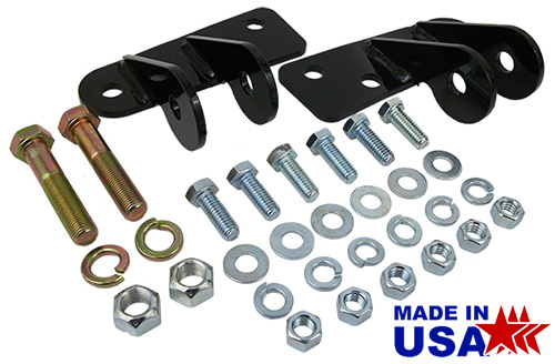 1963-87 Chevy, GMC Truck Shock Mount Relocation Kit for Lowered Trucks, Front