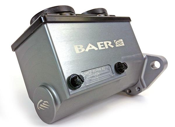 Baer Brakes Remaster Master Cylinder, Gray Anodized