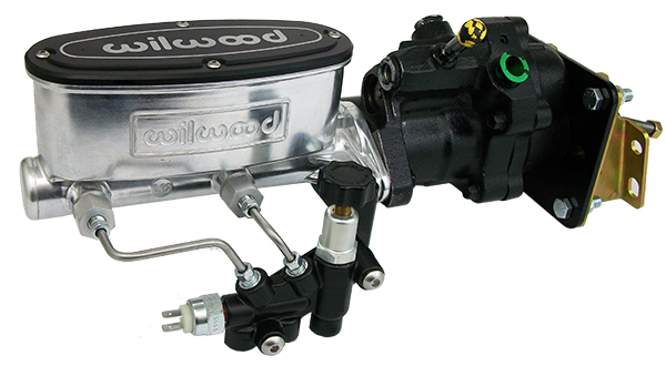 1966-70 Chevy Impala Hydro Boost Power Brake Booster Kit and Bright Wilwood Master Cylinder