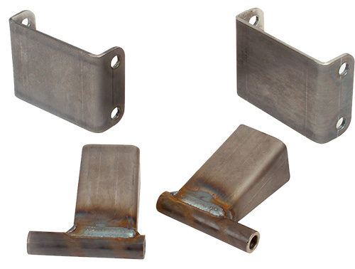 1964-73 Ford Mustang Motor Mount Brackets for IFS Suspension Crossmember