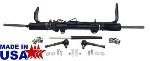 1960-66 Chevy C10, GMC C15 Truck Power Steering Rack and Pinion Kit