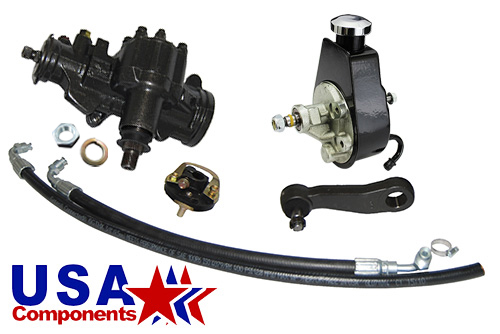 1968-74 Chevy Nova, Power Steering Conversion Kit