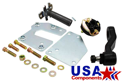 1960 61 62 Chevy GMC Chevrolet Truck Power Steering Conversion Brackets