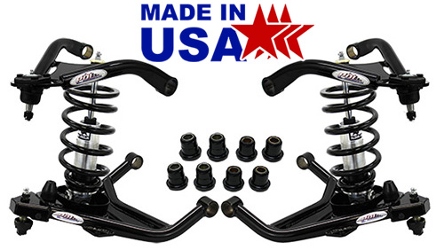 1958-64 Chevy Impala Tubular Control Arm & Coil Over Suspension Kit, Stage 3+