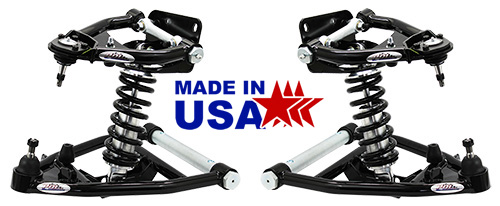 1973-87 Chevy C10, GMC C15 Tubular Control Arm & Coil Over Suspension Kit, Stage 3+