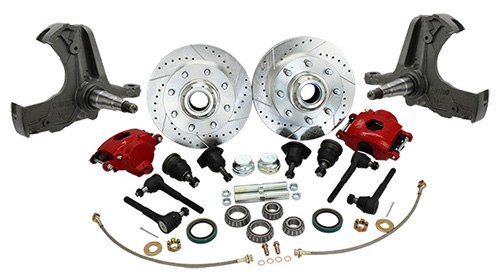 1963-70 Chevy, GMC C20 Truck Disc Brake Conversion, 8-Lug Deluxe
