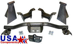 1948-64 Ford F1, F100 Truck Ford V-8 Engine and Transmission Crossmember Kit For Mustang 2 Suspension