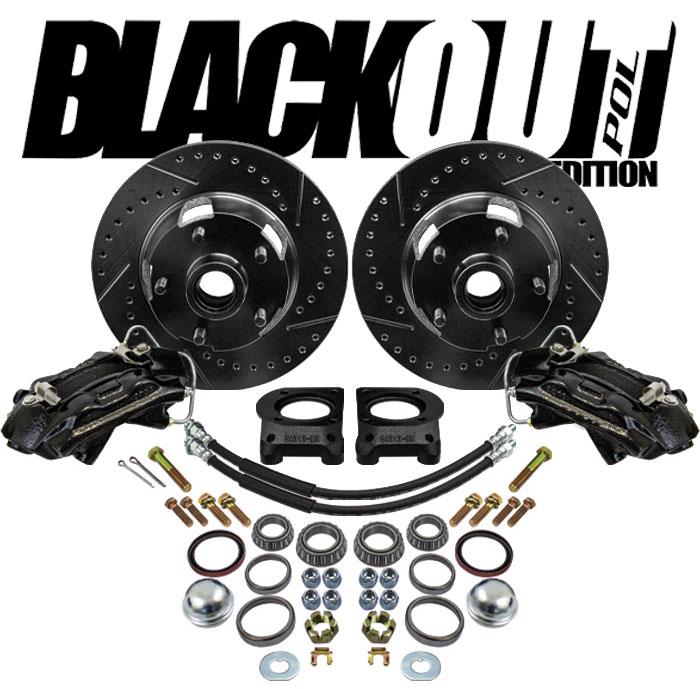"""1964-66 Ford Falcon """"BlackOut"""" Disc Brake Conversion"""