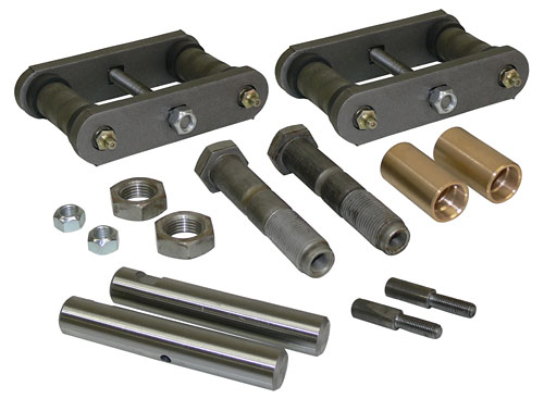 1955-59 Chevy, GMC 3100 Truck Leaf Spring Pin and Shackle Kit, Rear