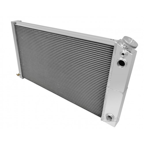 1968-79 Chevy Nova Aluminum Radiator for LS Engine Conversion