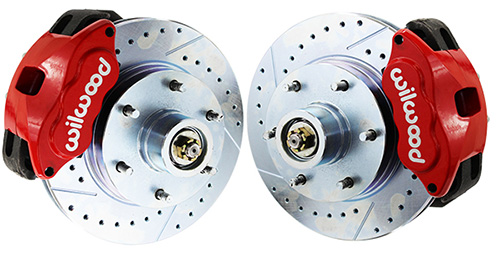 1963-70 Chevy C10, GMC C15 Truck Disc Brake Conversion, Wilwood Caliper, Stock or Drop Spindle