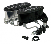 Wilwood Master Cylinder, Aluminum Tandem Chamber Disc Brake Conversion with Adjustable Proportioning Valve