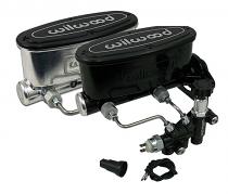 Wilwood Master Cylinder, Aluminum Tandem Chamber Disc Brake Conversion with Adjustable Proportioning Valve