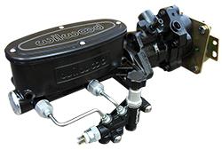 1958-65 Chevy Impala Hydro Boost Power Brake Booster, Black Wilwood Master Cylinder