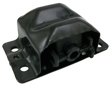 GM V-8 Engine Motor Mount, OE Late Model Clam Shell Style, Rubber, Each