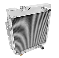 1964-66 Ford Mustang Aluminum Radiator, Original Small Block Ford V8