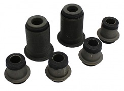 1965-70 Chevy Impala Front Control Arm Bushing Kit, Rubber