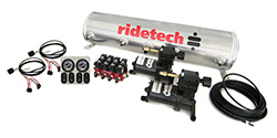 RideTech 30154100 - 4-Way Analog Ride Pro Compressor System, 5 Gallon