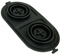Master Cylinder Lid Gasket, GM Disc Brake Type, Dual Reservoir