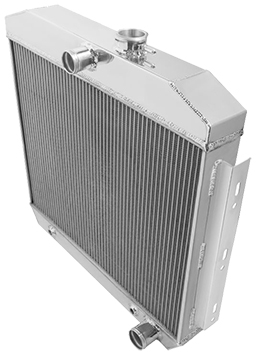 1942-52 Ford Truck Aluminum Radiator, 3 Row
