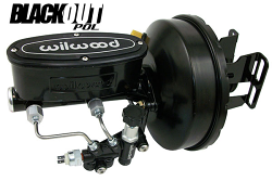1958-65 Chevy Impala Black Out Series Wilwood Power Brake Booster Kit