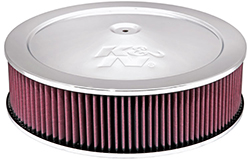 "14"" K & N Air Cleaner Assembly w/ 9/16"" Raise Base"
