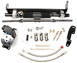 1970-74 Chevy Camaro Power Steering Rack and Pinion Conversion Kit, Small Block