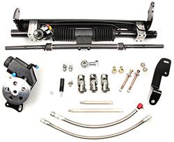 1970-74 Chevy Camaro Power Steering Rack and Pinion Conversion Kit, Small Block
