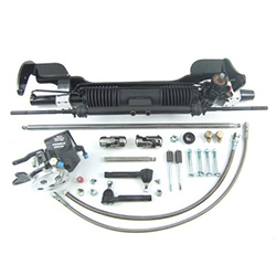 1963-65 Ford Fairlane Power Rack and Pinion Steering Conversion Kit