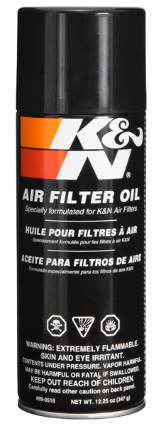 K&N Air Filter Oil - 12.25oz - Aerosol