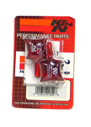 K & N Air Filter Oil, .5oz Pillow Pack (2 pack)