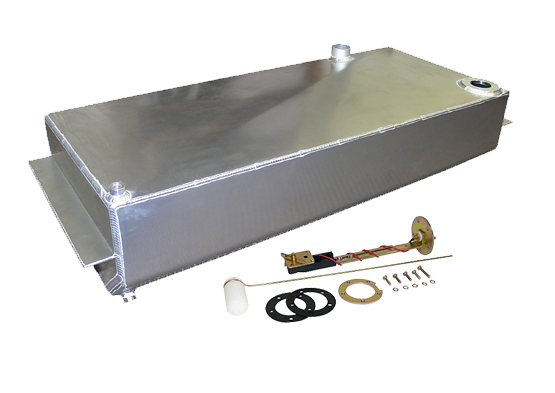 1960-62 Chevy, GMC Truck Aluminum Fuel Gas Tank Combo Kit, 19 Gallons with Chrome Gas Cap