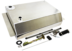 1963-66 Chevy, GMC Truck Aluminum Fuel Gas Tank Combo Kit, 19 Gallon