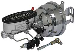 1967-69 Chevy Camaro Wilwood Power Brake Booster Kit, Chrome