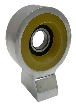 1963-72 Chevy, GMC Truck Driveshaft Carrier Bearing with Poly Urethane Insulator, Billet Aluminum